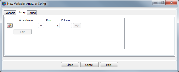how to create an initial gui window